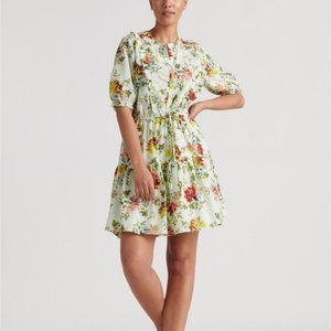 NWT LUCKY BRAND Floral Victoria Dress Size L